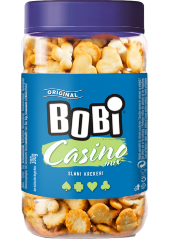 Bobi salty crackers - Casino mix 300g