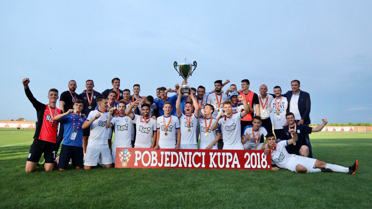 Bobi is a proud sponsor of FC Osijek junior team – the cup winner 2018