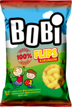 Bobi extruded corn snacks 35g