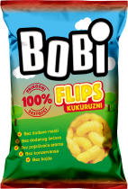 Bobi extruded corn snacks 80g